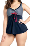 elomi Regatta Flared Tankini Swim Top ES7012