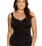 Isis Ruched Tankini Swim Top Image