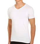 Essentials Stretch Cotton V-Neck