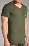 Emporio Armani Pima Cotton V-Neck T-Shirt 110810F