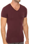 Soft Cotton V-Neck