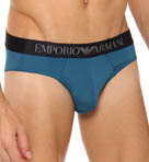 Colored Low Rise Microfiber Brief-