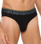Emporio Armani Double Waistband High Cut Brief 110814Q