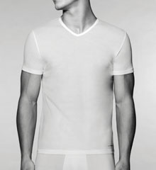 Cotton V-Neck T-Shirt 3 Pack