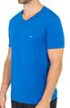 Jersey Cotton V-Neck T-Shirts - 3 Pack Image