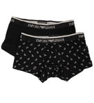 Emporio Armani 2 Pack All Over Eagle Trunk 111210C