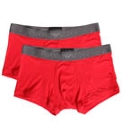 Emporio Armani Basic Stretch Cotton 2 Pack Trunk 111210D