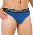 Emporio Armani Colored Stretch Cotton Thong 11121550
