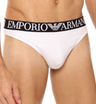 Emporio Armani Colored Stretch Cotton Thong 111215D