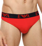 Emporio Armani Spring Stretch Cotton Thongs 111215G