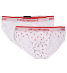 Emporio Armani 2 Pack All Over Eagle Brief 111321a