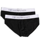Emporio Armani Basic Stretch Cotton 2 Pack Brief 111321B