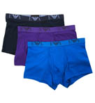 Emporio Armani Jersey Cotton Trunks - 3 Pack 1118673A