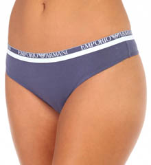 Emporio Armani Everyday Stretch Cotton Thong 162427ES