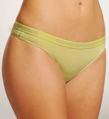Lilla Microfiber Thong