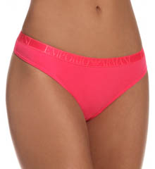 Emporio Armani 162427SC Stretch Cotton Thong