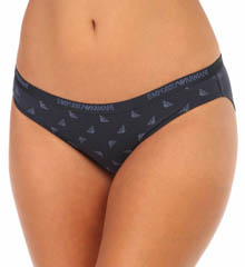 Emporio Armani 1624283D 3D Eagle Stretch Cotton Brief Panty
