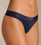 Lilla Cotton Stretch Thong