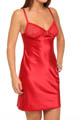 Emporio Armani Diamond Satin And Lace Slip Chemise 162514D