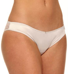 Diamond Satin And Lace Brief Panty