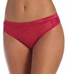 Emporio Armani Chic Mesh & Lace Brazilian Brief Panty 162948CM