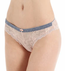 Emporio Armani 162948ML My Luxury Lace Brasilian Brief Panty