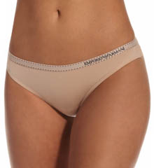 Emporio Armani 162948MP Minimal Perfection Micro Brazilian Brief Panty