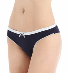 Emporio Armani Romantic Touch Stretch Cotton Brazilian Panty 162948RT