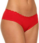 Lilla Cotton With Lace Bikini Panty