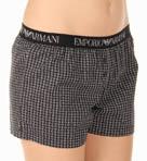 Tie Pattern Woven Shorts