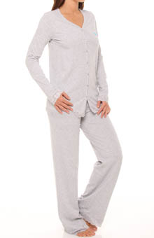 Surprise Cotton and Lace Pajama Set