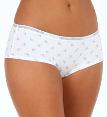 Emporio Armani 3D Eagle Stretch Cotton Cheeky Panty 1632253D