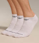 Emporio Armani 3 Pack In Shoe Cotton Socks 300008