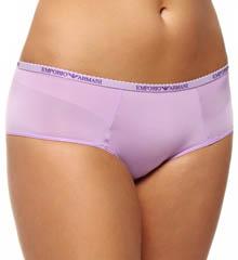 Emporio Armani Caresse Light Solid Microfiber Logo Culotte Panty 62426235