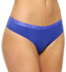 Emporio Armani Everyday Stretch Cotton Logo Thong 62427263