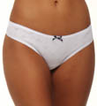 Emporio Armani Eagle Design Jacquard Cotton Rib Thong 62440258