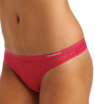 Emporio Armani All Over Lace Thong 62468283