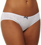 Eagle Design Jacquard Cotton Rib Brief Panty