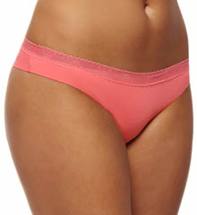 Emporio Armani 62948231 Basically Micro with Crochet Brazilian Brief Panty