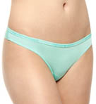 Caresse Light Solid Microfiber Brazilian Panty