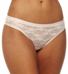 All Over Lace Brazilian Brief Panty
