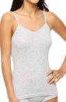 Eagle Design Jacquard Cotton Rib Tank