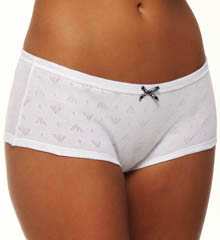 Eagle Design Jacquard Cotton 2 Pack Culotte Panty