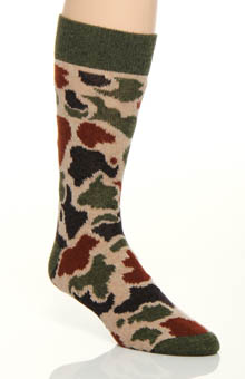 Etiquette Clothiers Limited Edition Camo Soto Luxury Sock