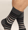 Block Stripe Sock Image