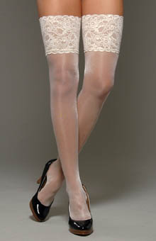Falke Transparent Shining Stocking 41510 - Falke Hosiery