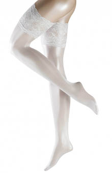 Falke 41584 Transparent Shining Stay Up Thigh Highs