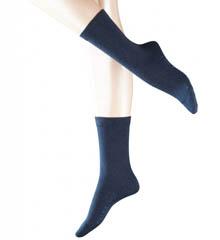 Falke 47675 Stretch Cotton Crew Socks