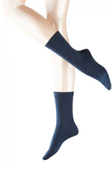 Falke 47675 Stretch Cotton Crew Socks