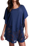 Malabo Laser Cut Kaftan Swim Cover Up Image